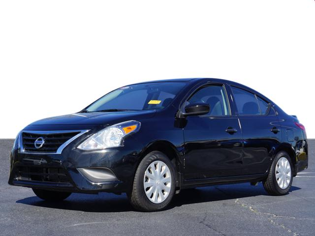 pre-owned 2017 nissan versa 1.6 s plus 4d sedan in union city