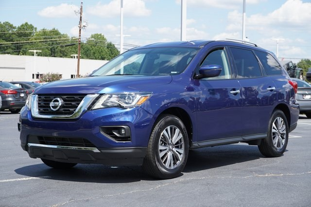 Nissan Of Union City >> Certified Pre Owned 2019 Nissan Pathfinder Sv Fwd 4d Sport Utility