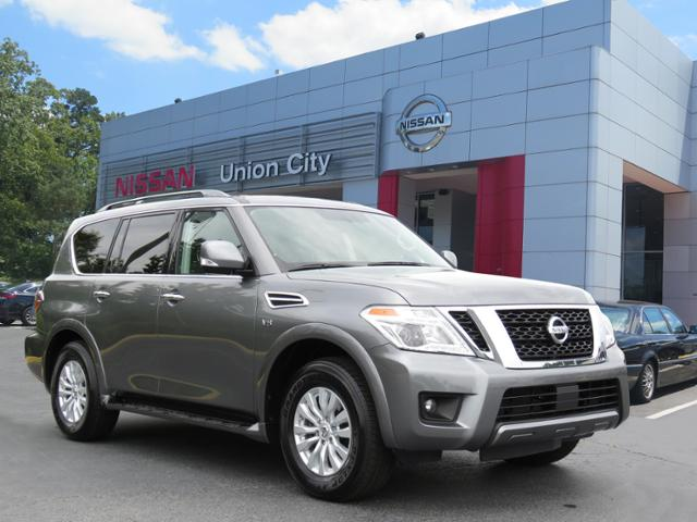 Nissan Of Union City >> Pre Owned 2019 Nissan Armada Sv Awd