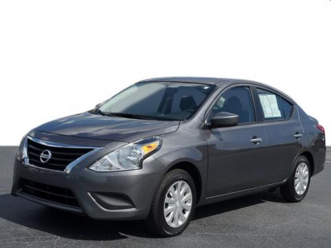 Certified Pre-Owned 2017 Nissan Versa 1.6 SV FWD 4D Sedan